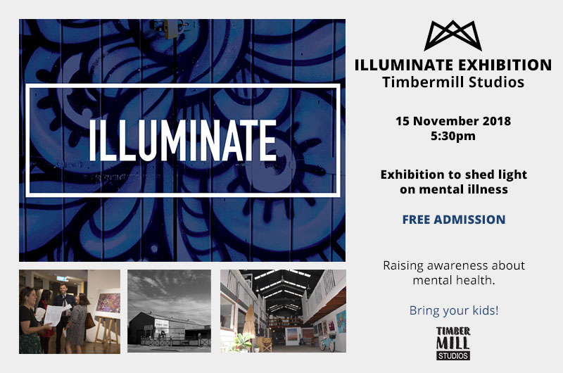 Illuminate Art Exhibition - Timbermill Studios